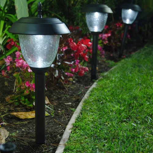 solar power garden light stakes living green and off the